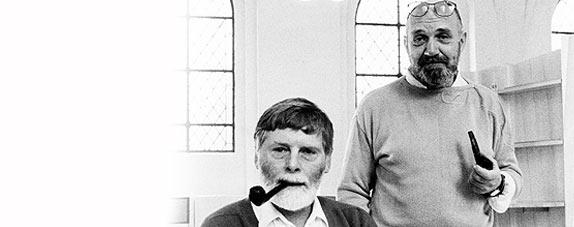 Borge Lindau and Bo Lindekrantz