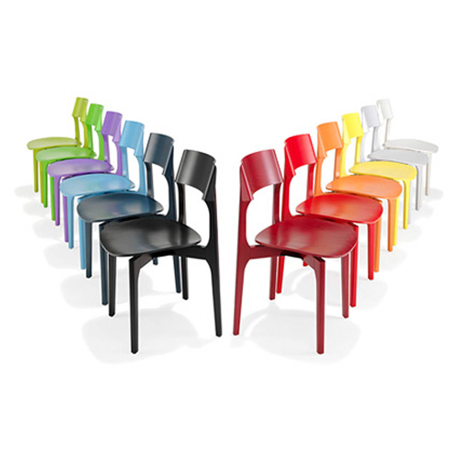 1010 Bina Chairs is available in a wide range of colours