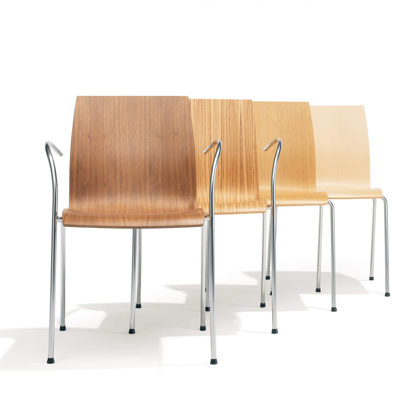 Robert de le Roi 1100 Trio Chairs for Kusch+Co