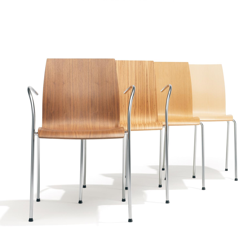 Robert de le Roi 1100 Trio Chairs for Kusch+Co