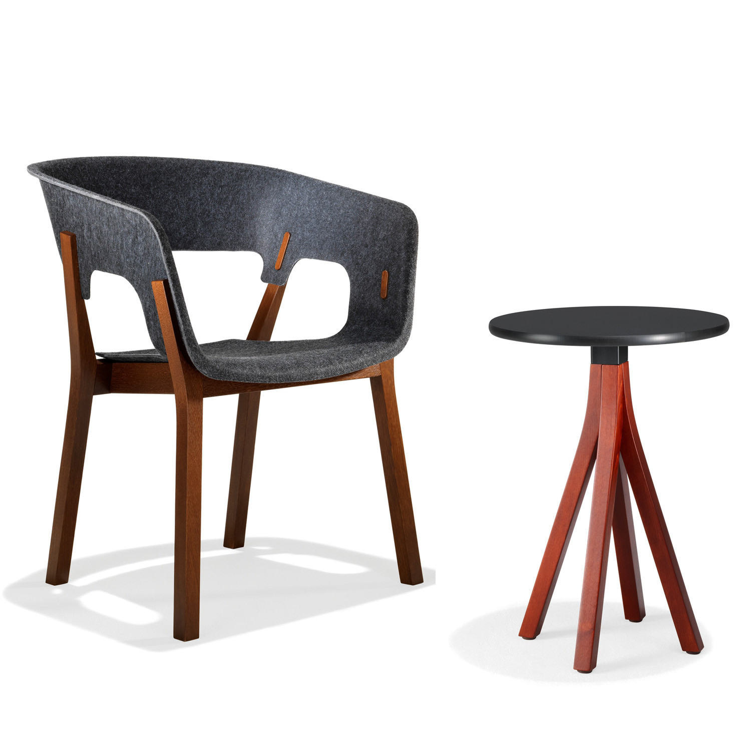 3000 Njord Wooden Chair and Table