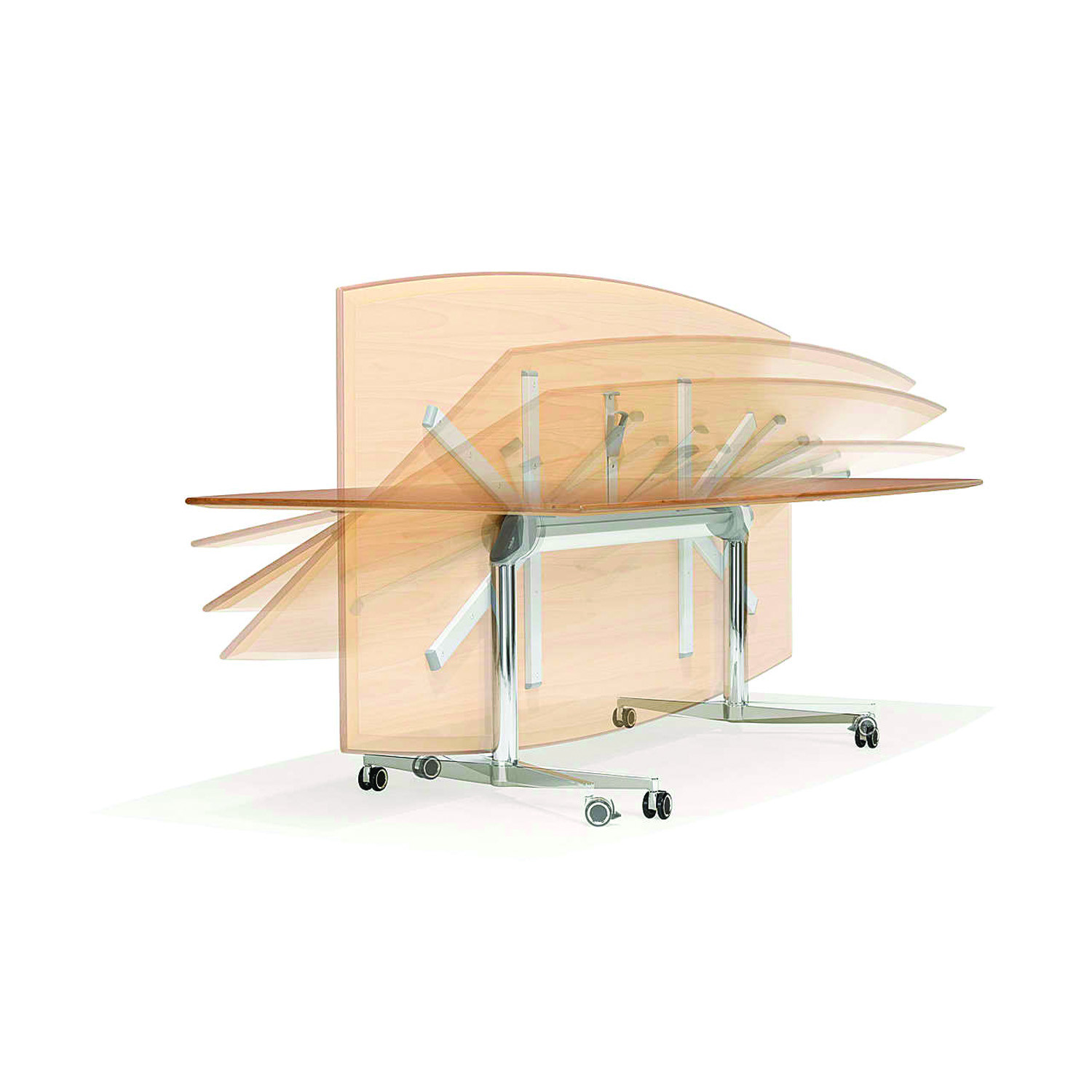 6000 San_Siro Folding Tables