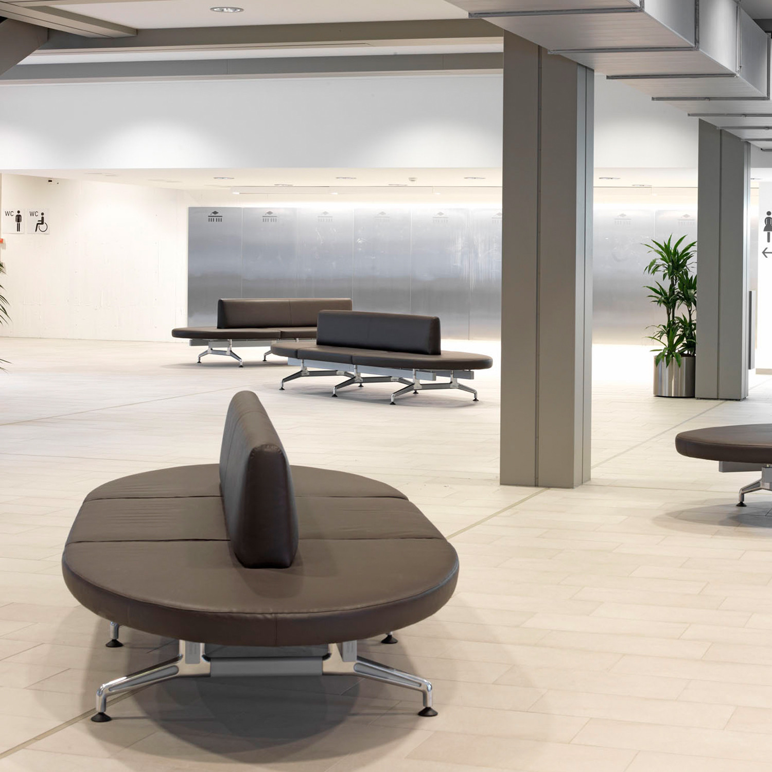 7300 Terminal Bench for Public Areas
