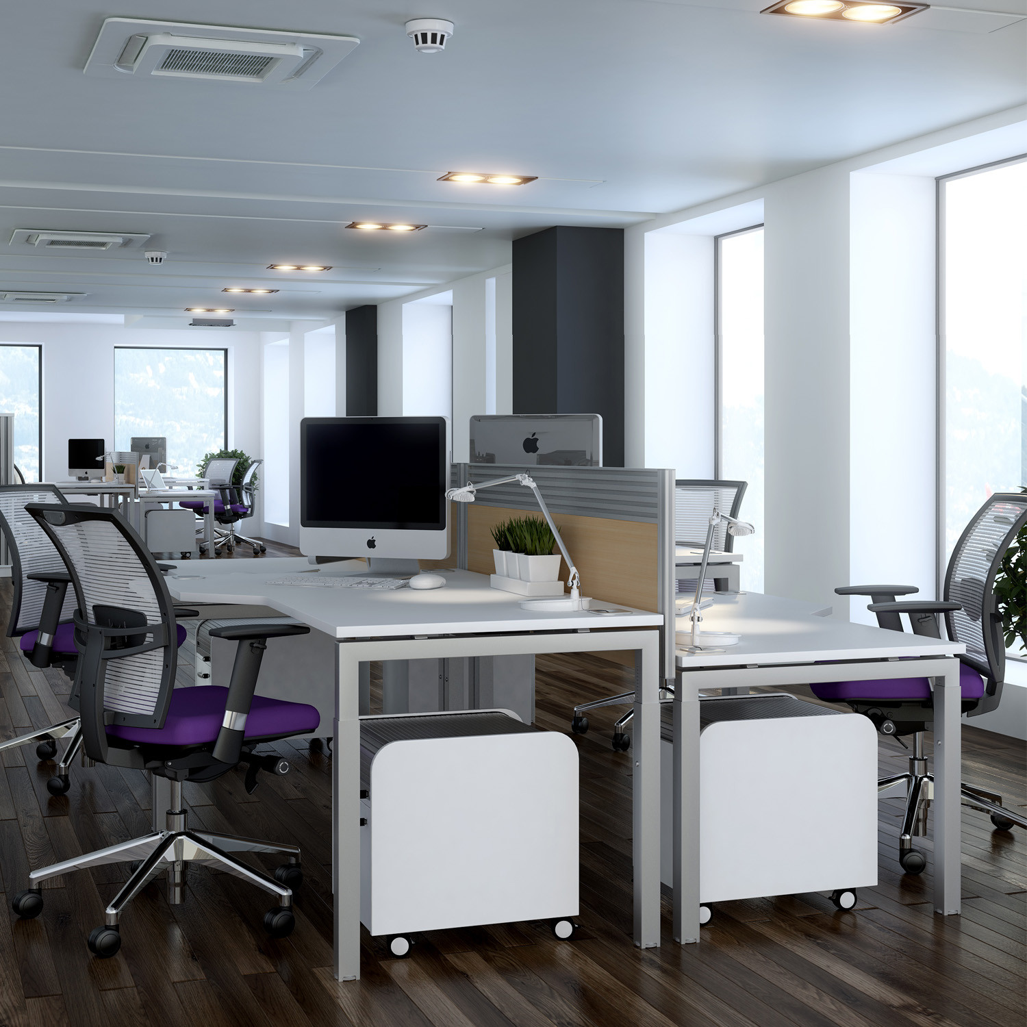 Advance Height Settable Desks