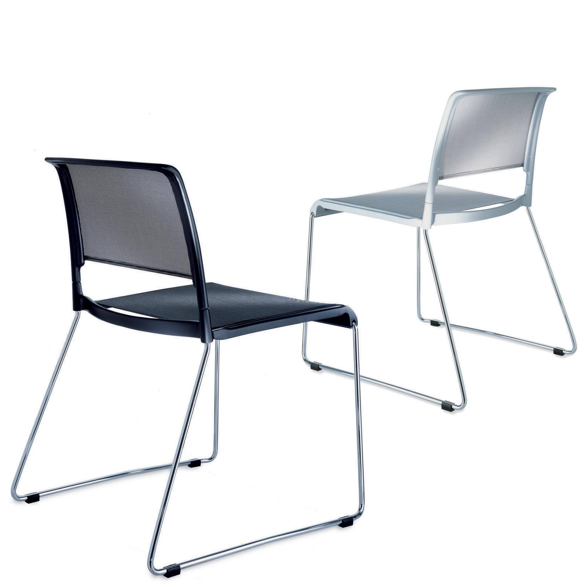 Aline Skid-Base Chairs