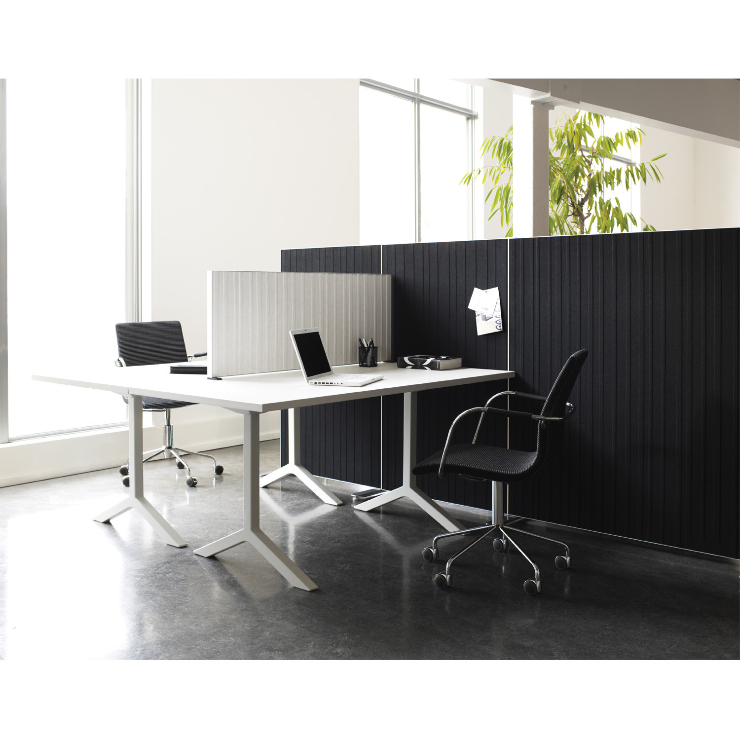 Alumi Desk Screens