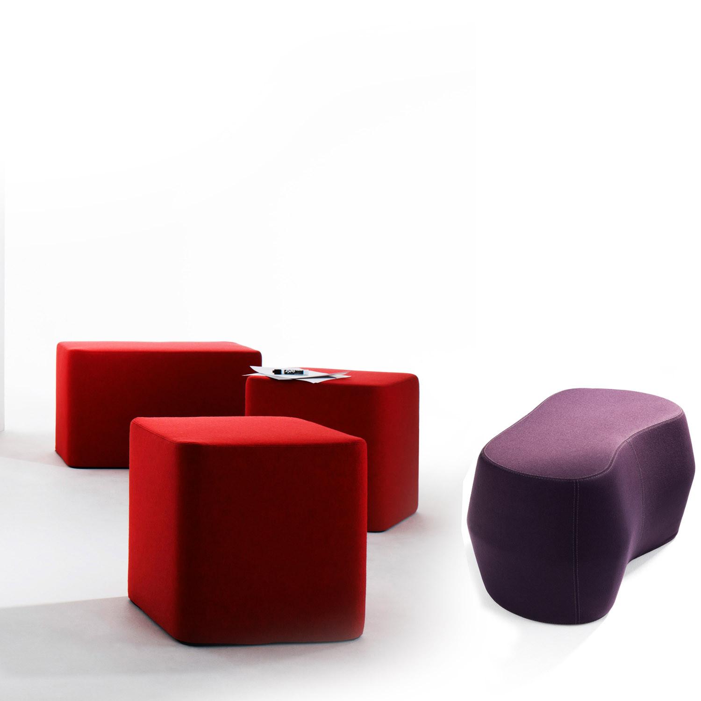 Base And Rock D Poufs Abstracta Modern Soft Poufs Apres Furniture