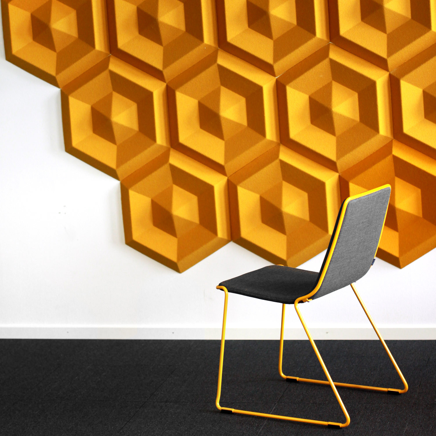 Beehive Acoustic Wall Panels