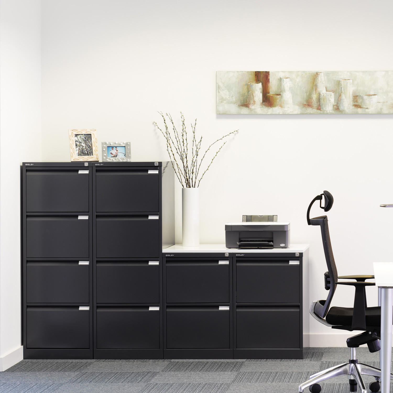 BS Filing Cabinets by Bisley