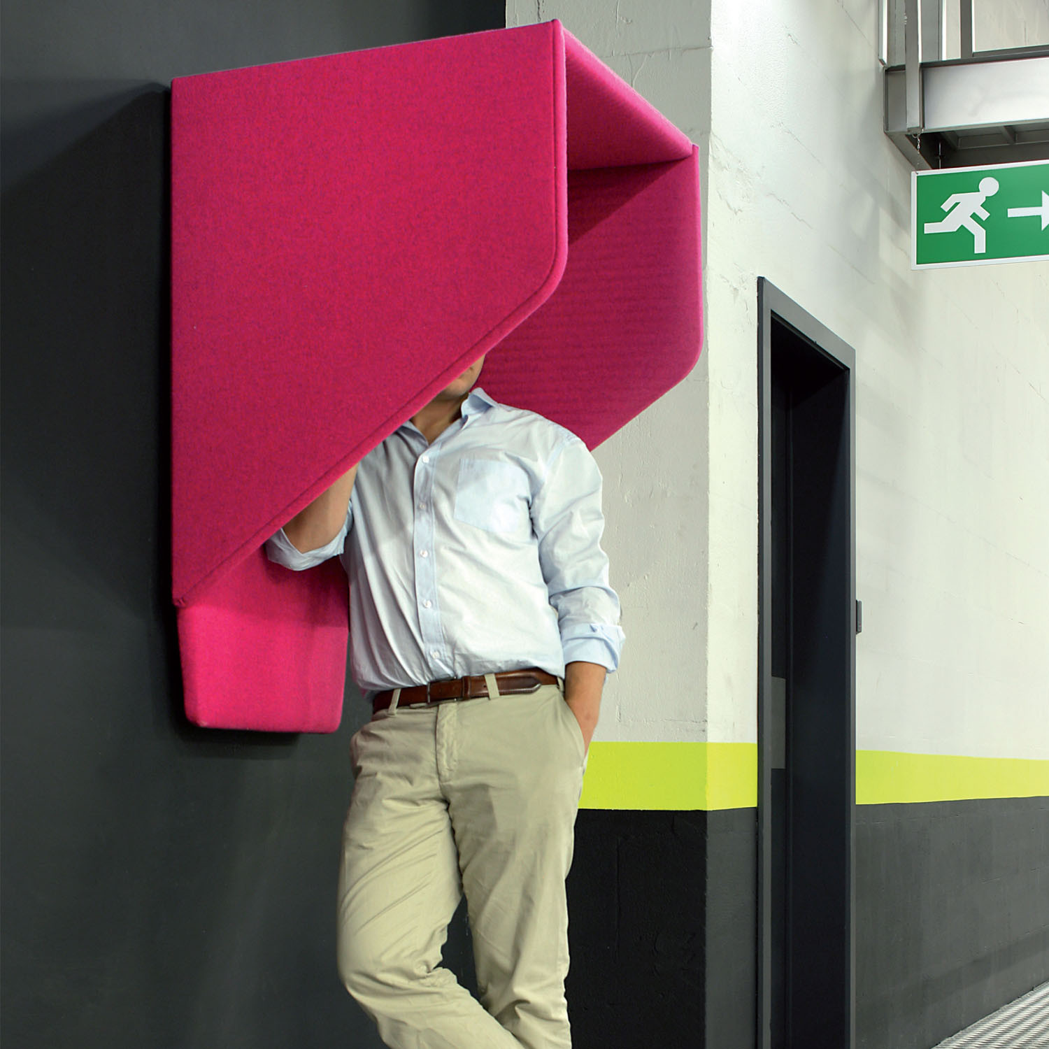 Buzzihood Phone Booth Acoustic Wall Mounted Phone Booths