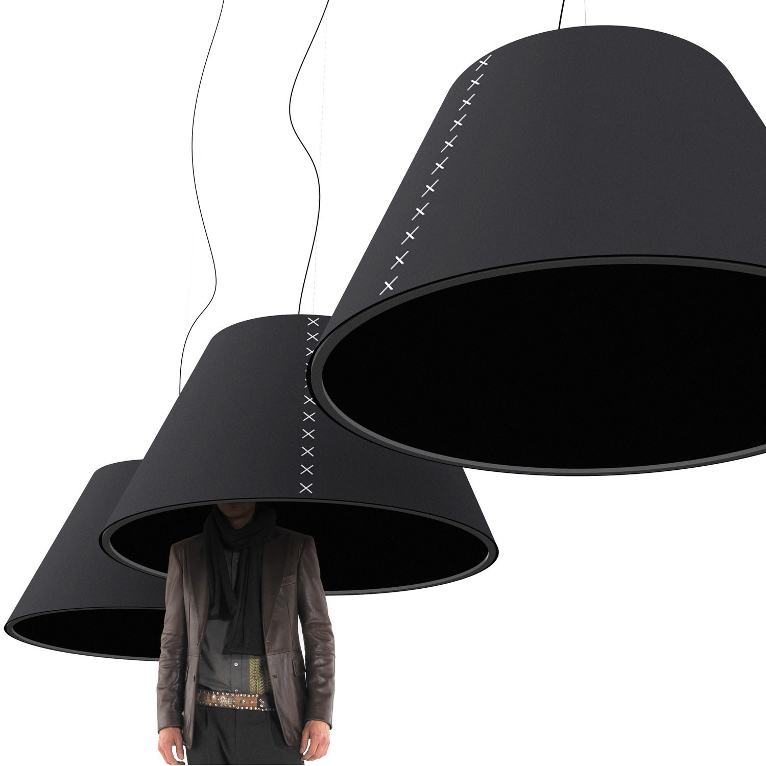 BuzziShade Acoustic Lamp