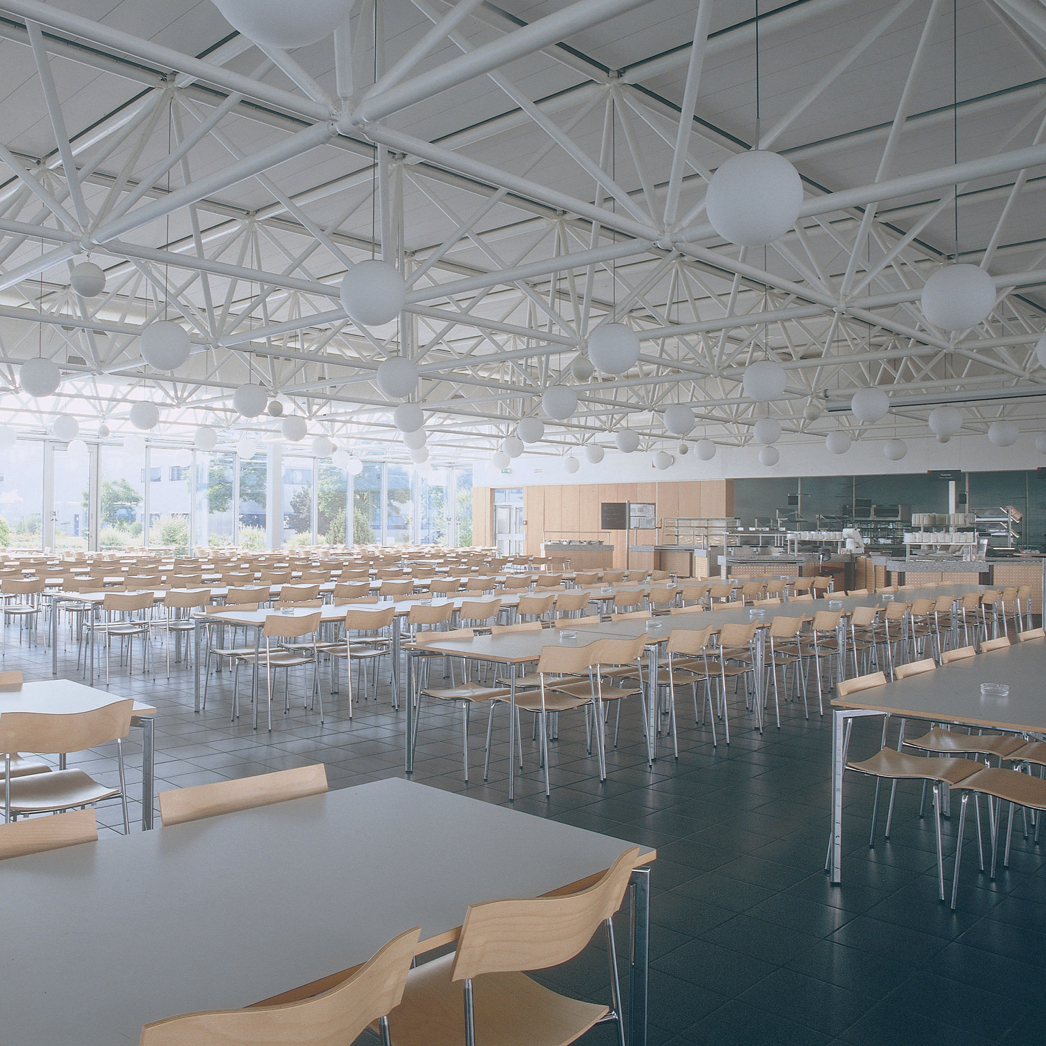 Campus Square Tables in canteen