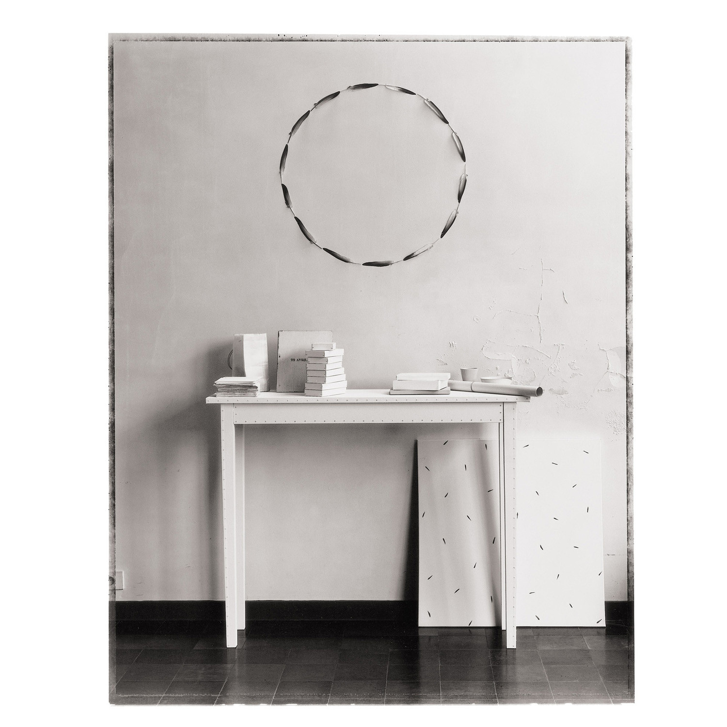 Blanche Table Small insitu