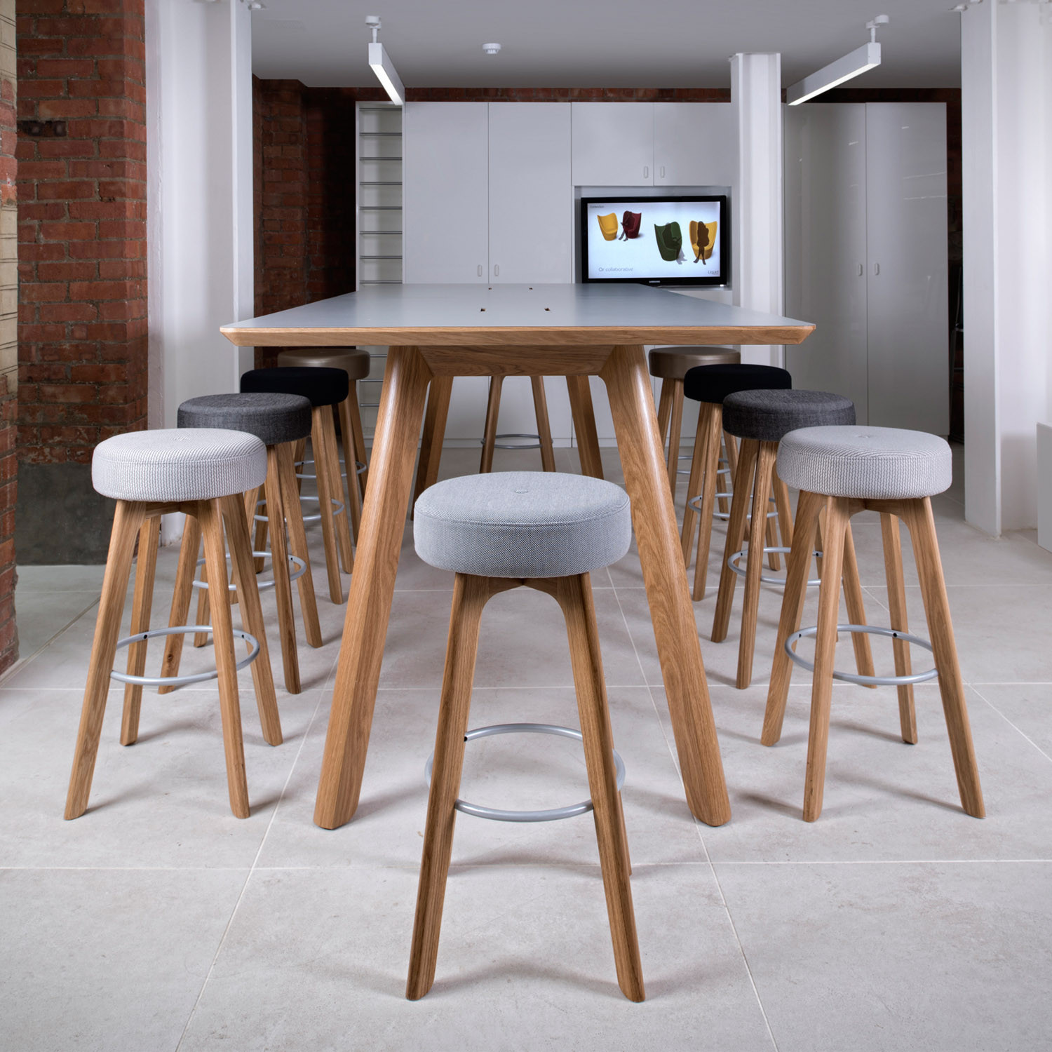 Centro Bar Stools with Centro High Table