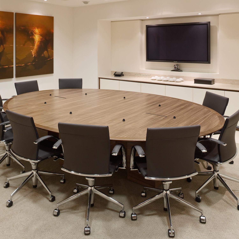 W. J. White Congress Meeting Table