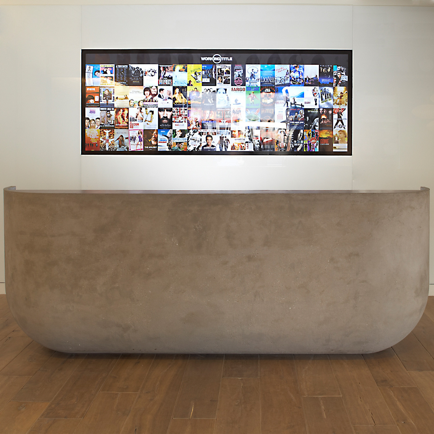 Concrete Reception Desk