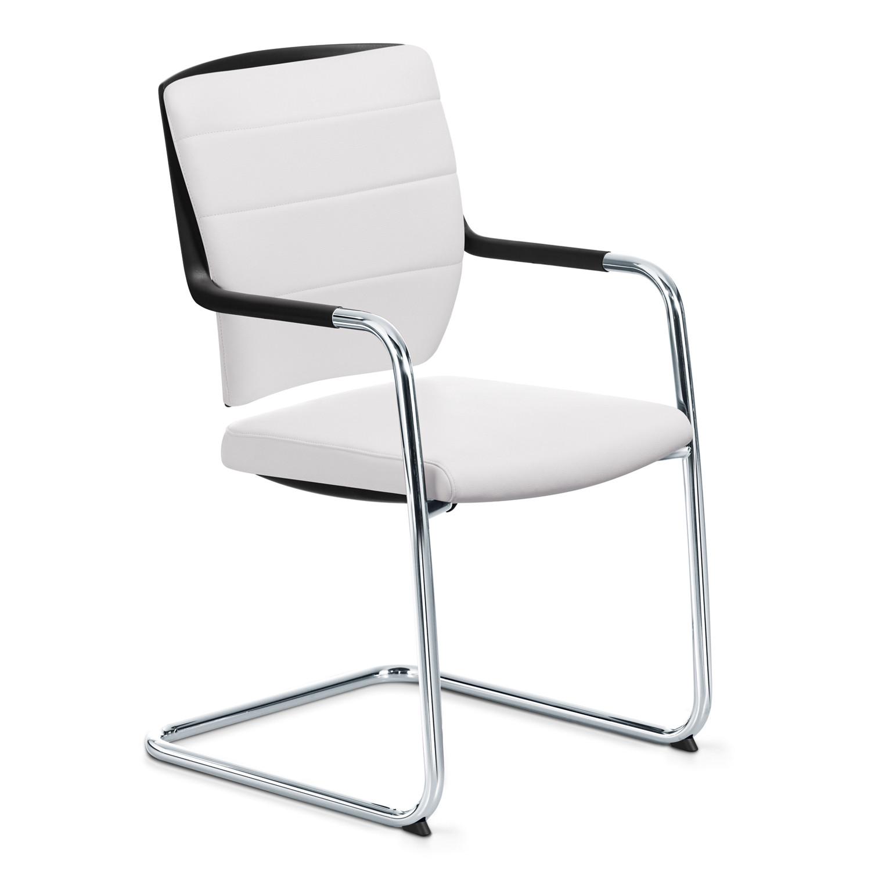 Crossline Cantilever Armchair