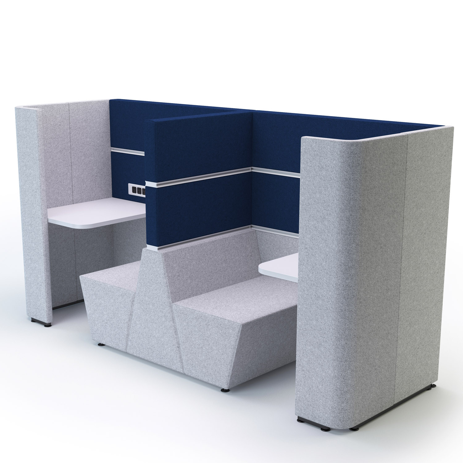 Fold Away Furniture Cubbi Privacy Booths Modular Acoustic Privacy Pods