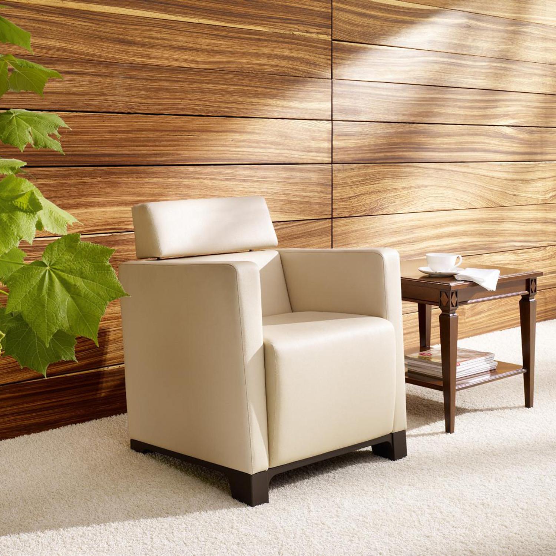 Grace Cube Lounge Armchair