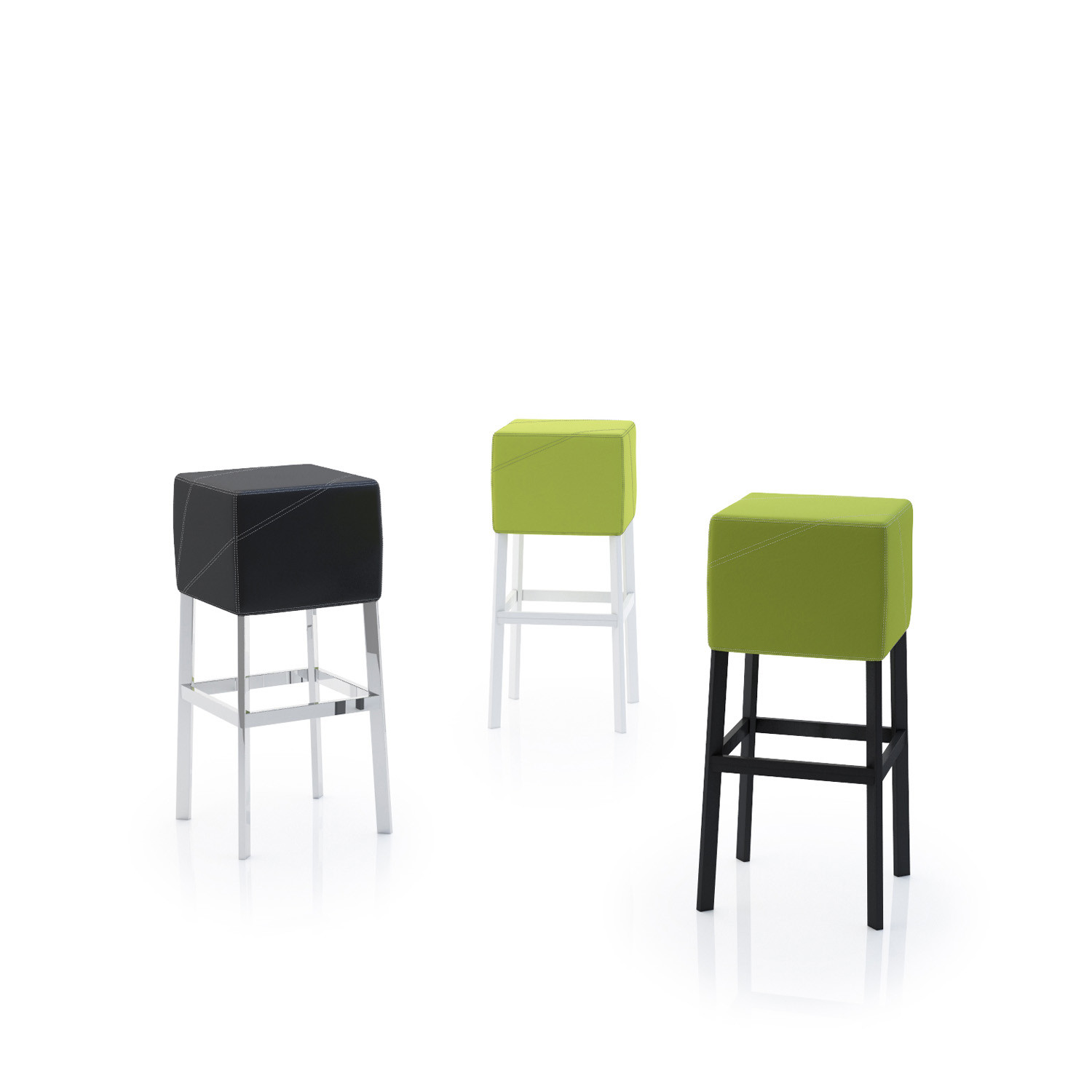 Cube 3.0 Bar Stools by Nicola Cacco Design