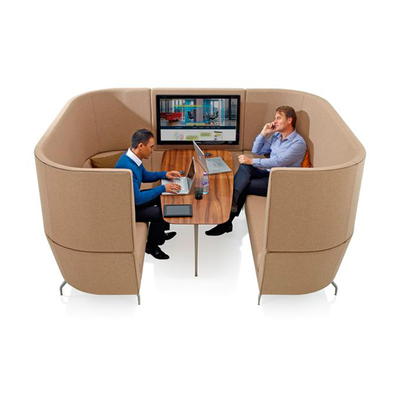 cwtch workbay sofa orangebox meeting pod apres furniture