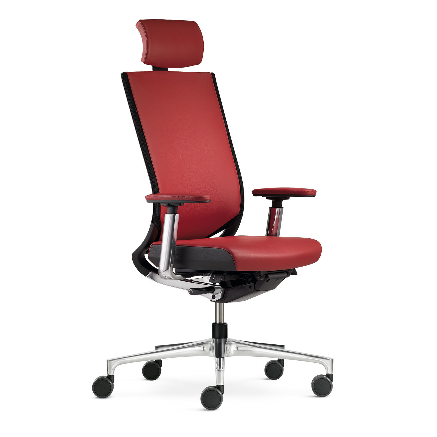 Duera Task Chairs in Leather