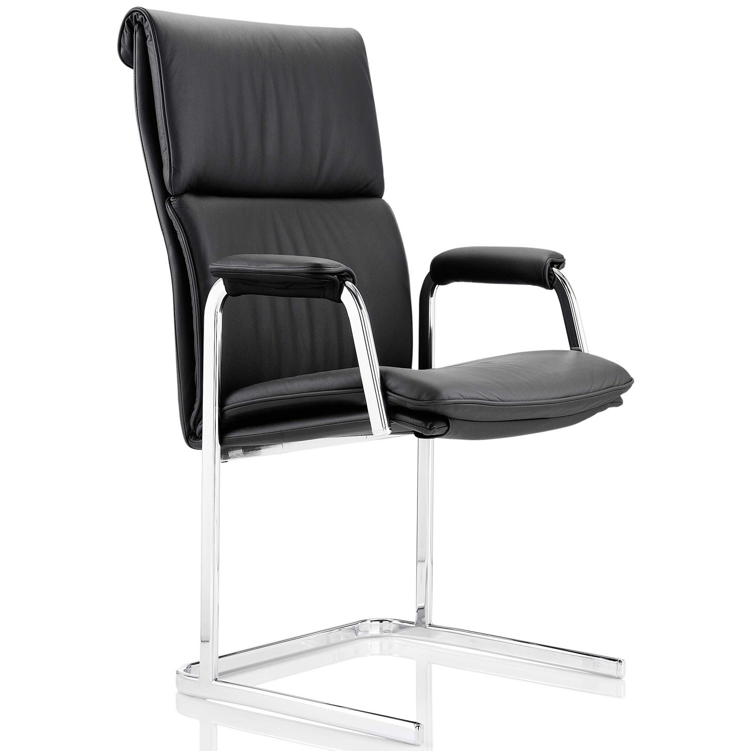 Delphi High Back Chair with cantilever base