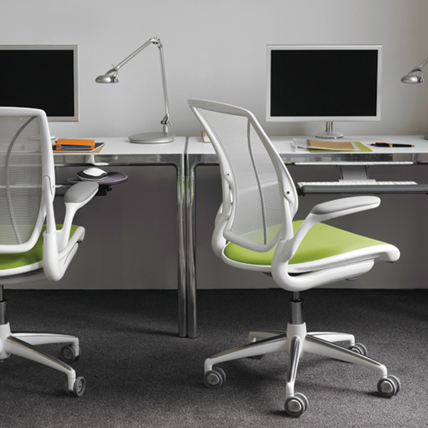Humanscale Diffrient World Task Chairs
