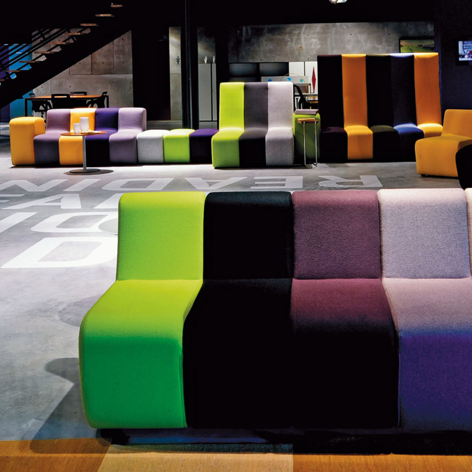 Dilim Modular Soft Seating