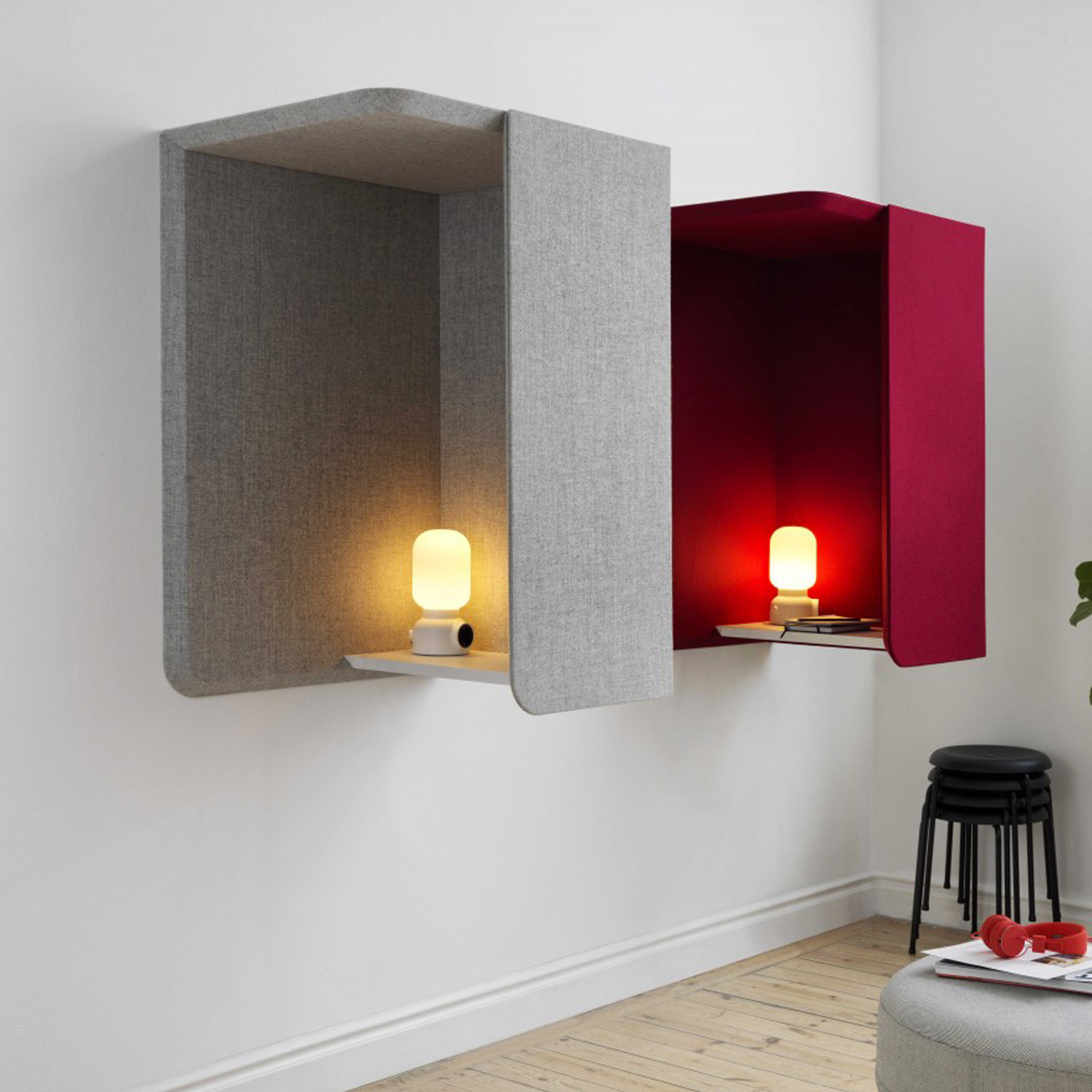 Domo Wall Booths from Abstracta