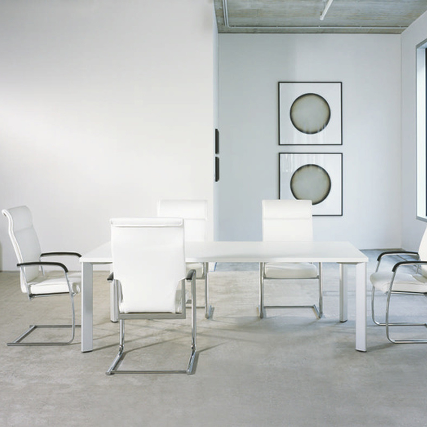 Drive Cantilever Meeting Chairs