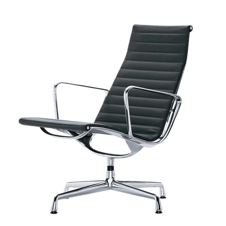Eames Aluminium Armchairs EA 115 - 116