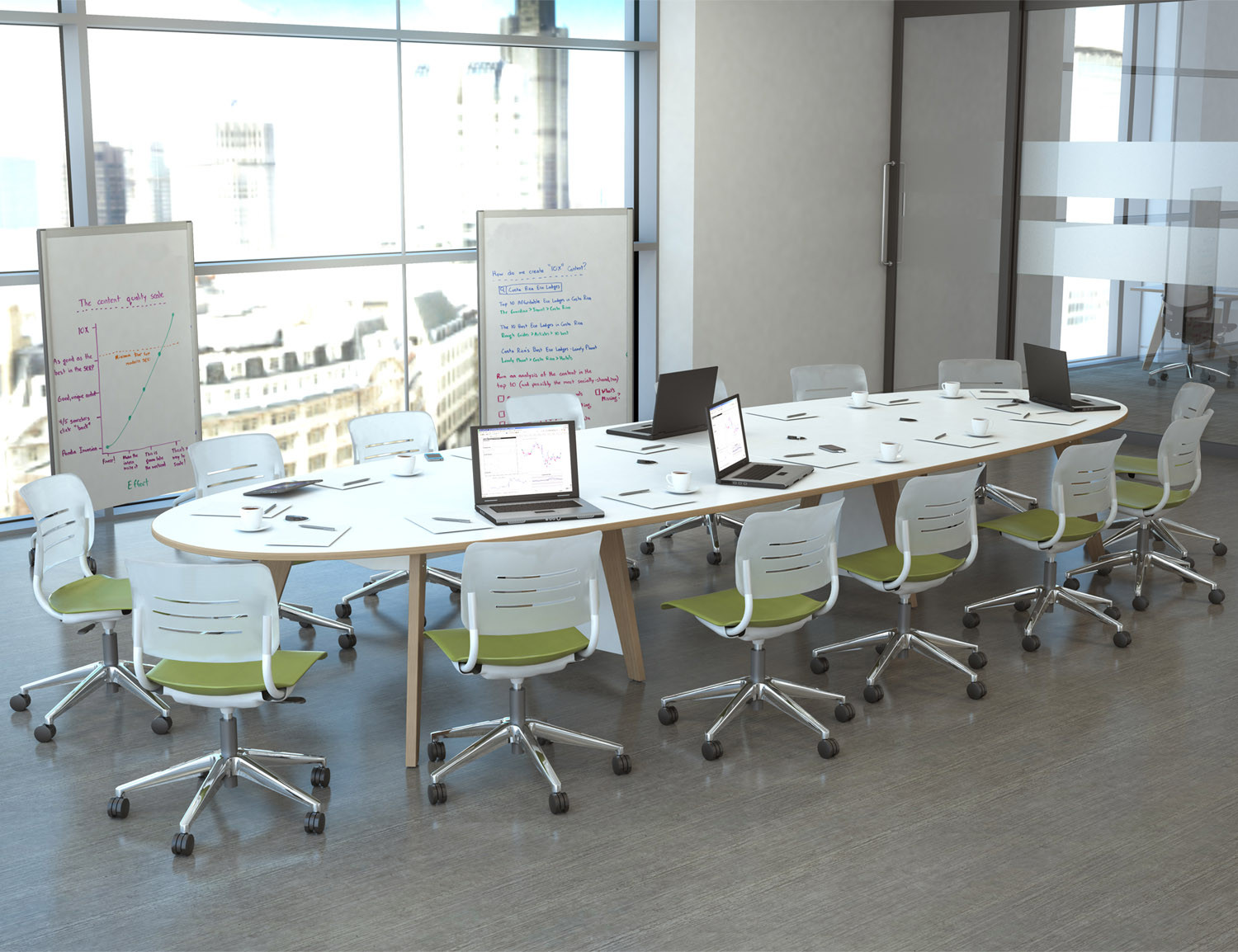 EC4 Boardroom Table from KI Storage