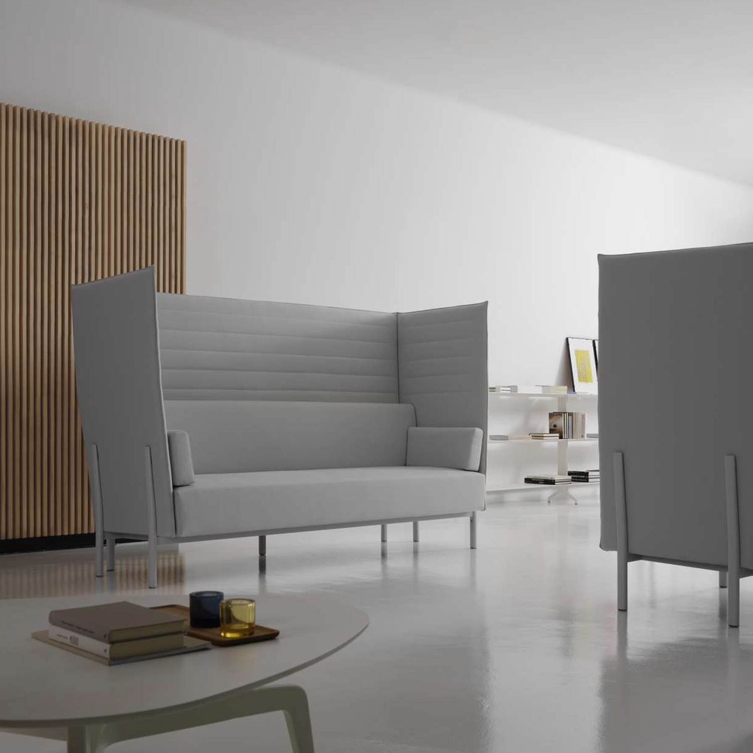 Eleven High Back Soft Seating by Alias