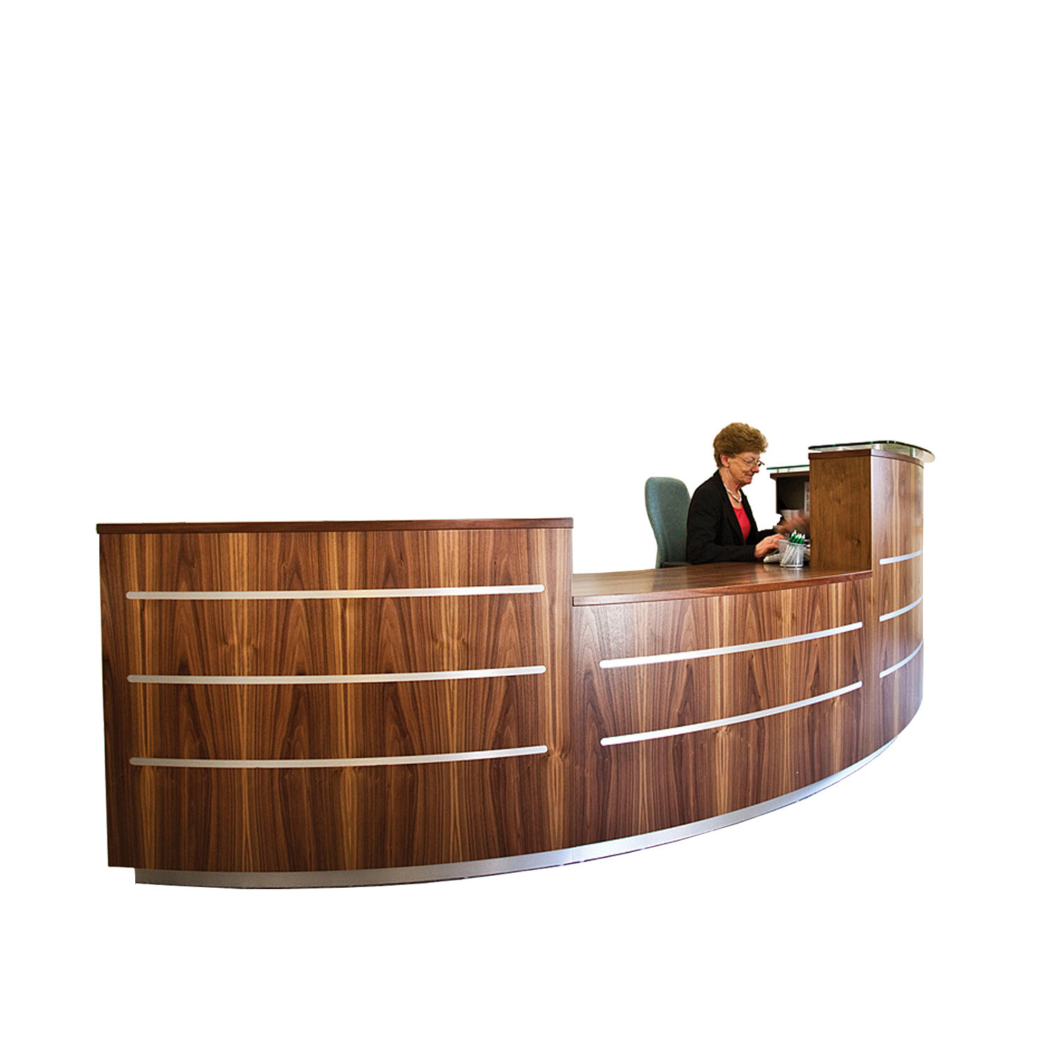 Evolution Eclypse Curved Reception Desk