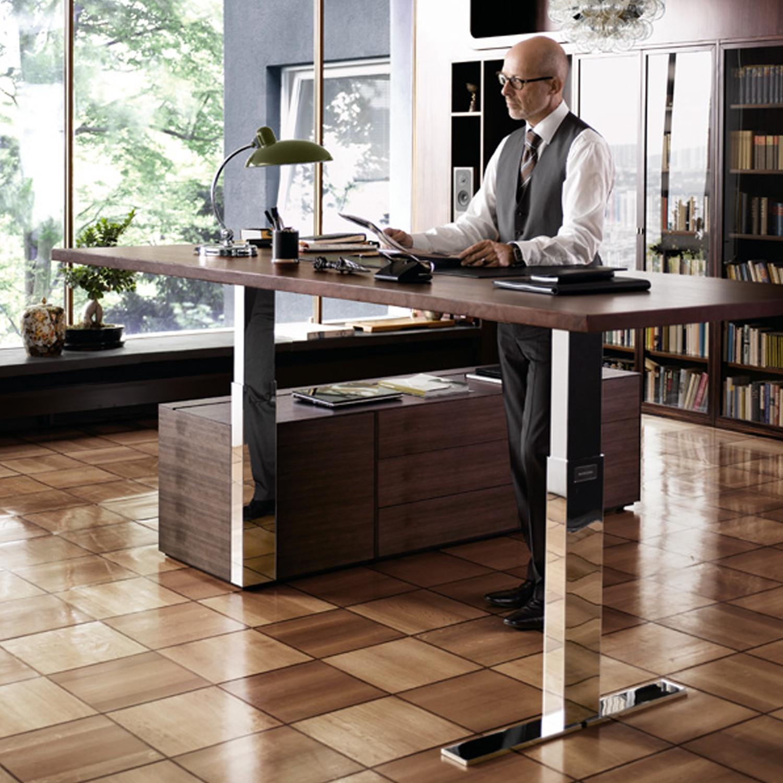 Exec-V. Sit-Stand Desk