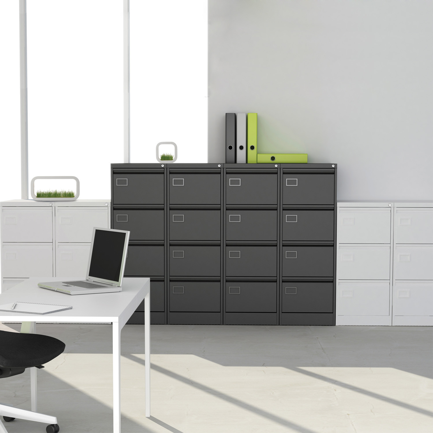 Executive Filing Cabinets by Silverline