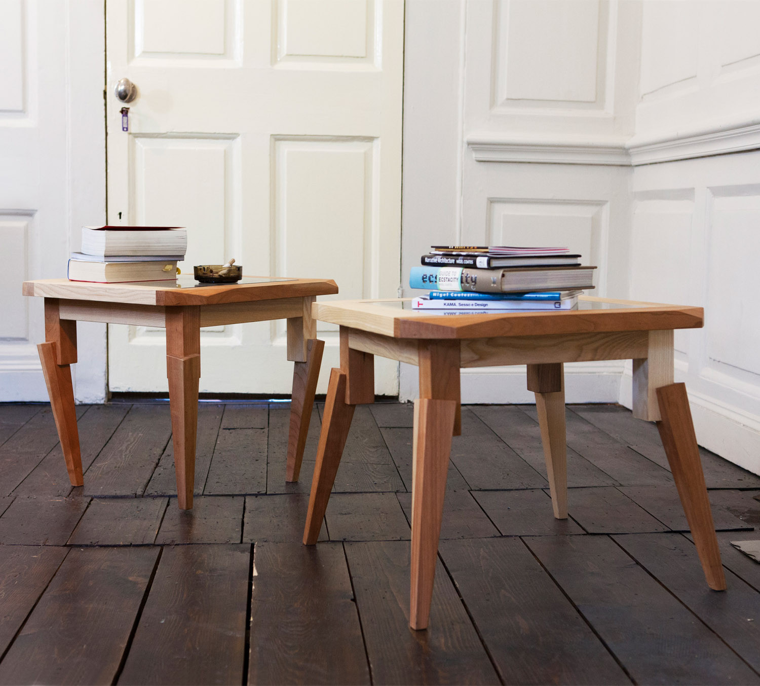 Nigel Coates Feral Side Tables