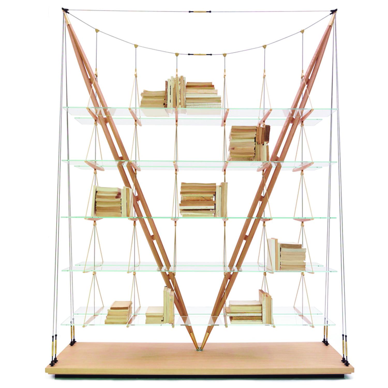 838 Veliero Bookcase Front