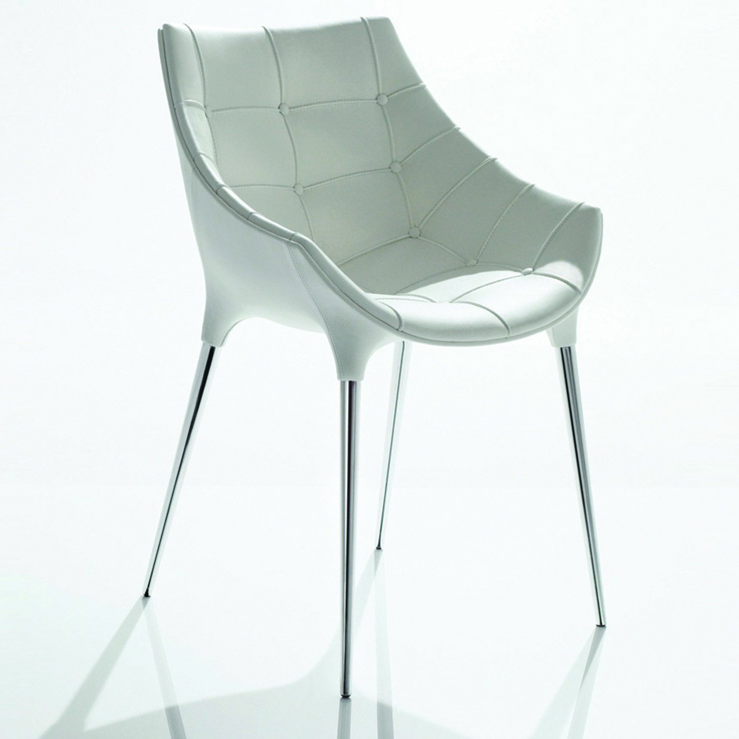 246 Passion Chair White Front