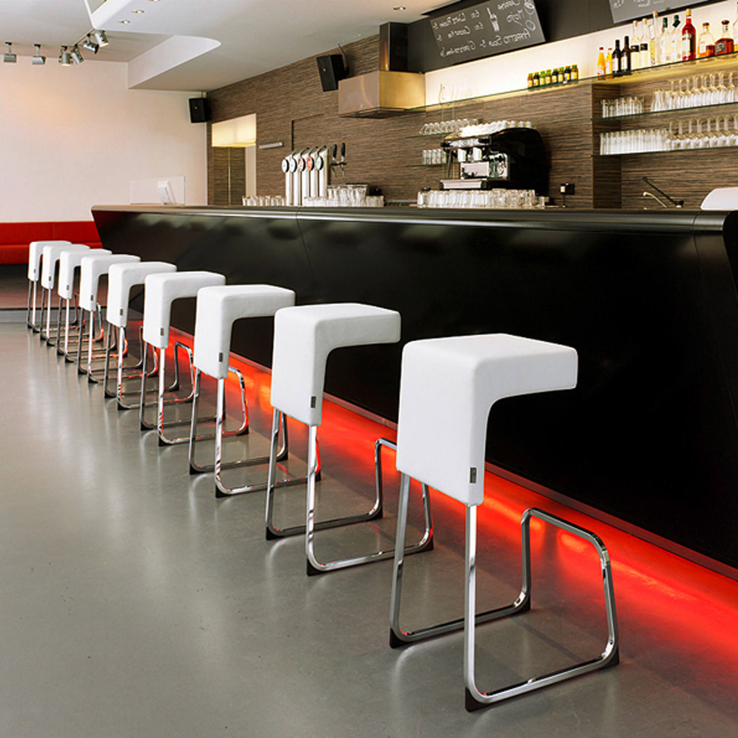 Fizz Contemporary Bar Stools