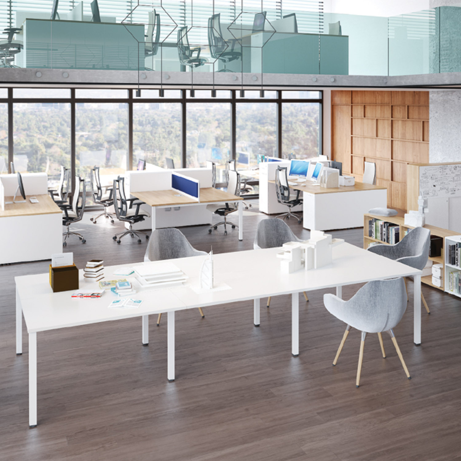 Flexido Bench Desk System from Mikomax