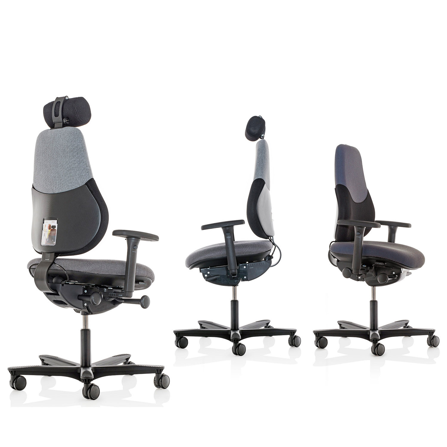 Flo Ergonomic Office Chairs FLO-HBAH & HBA