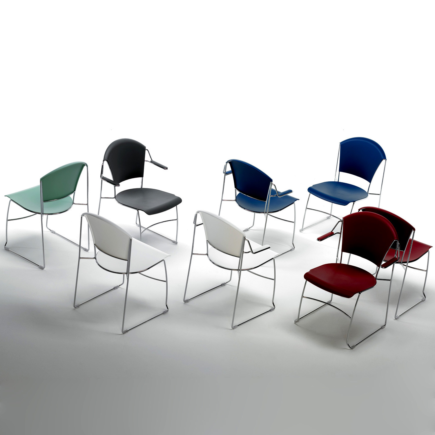 Forma Lightweight Visitor Chairs