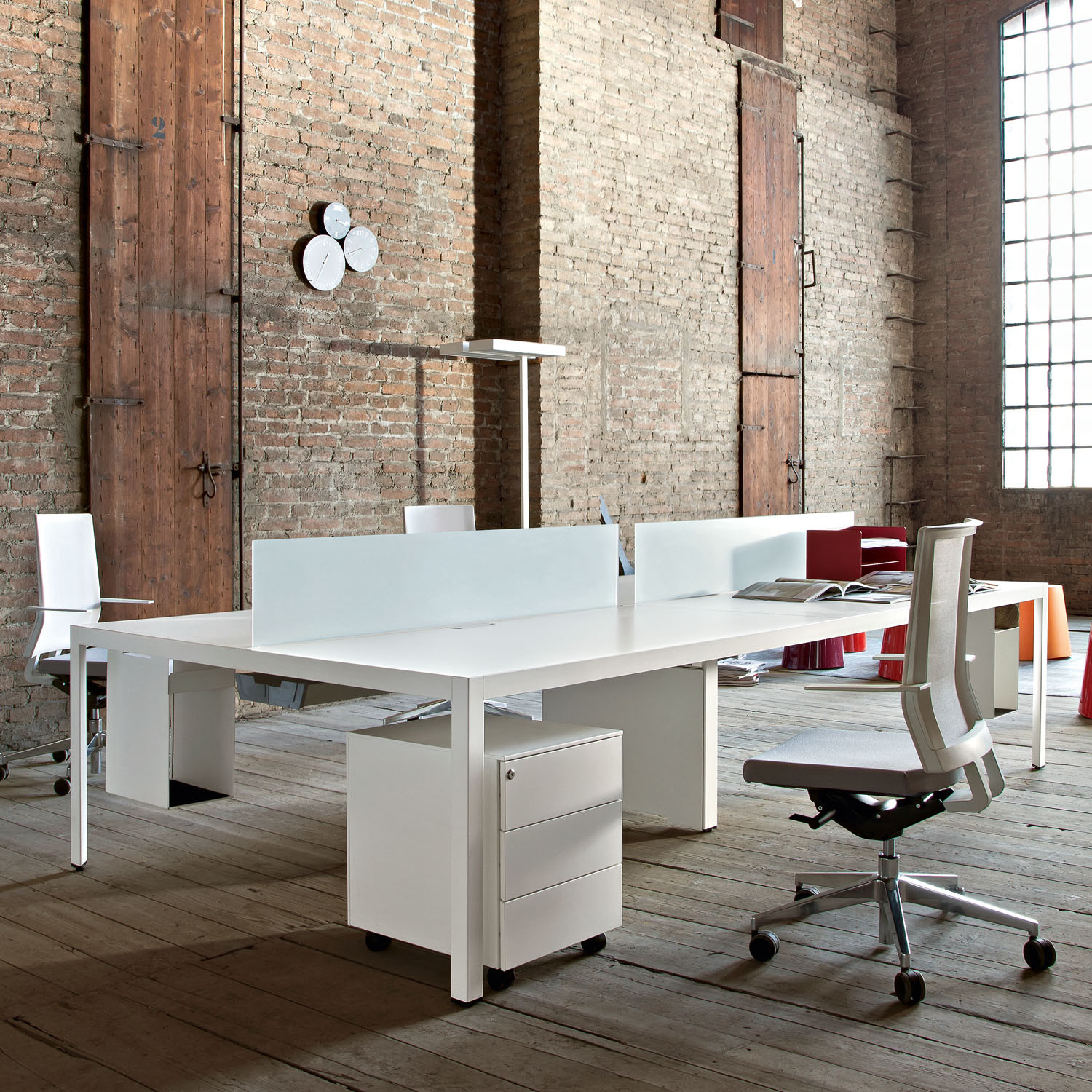 Frame + Office Bench Desk