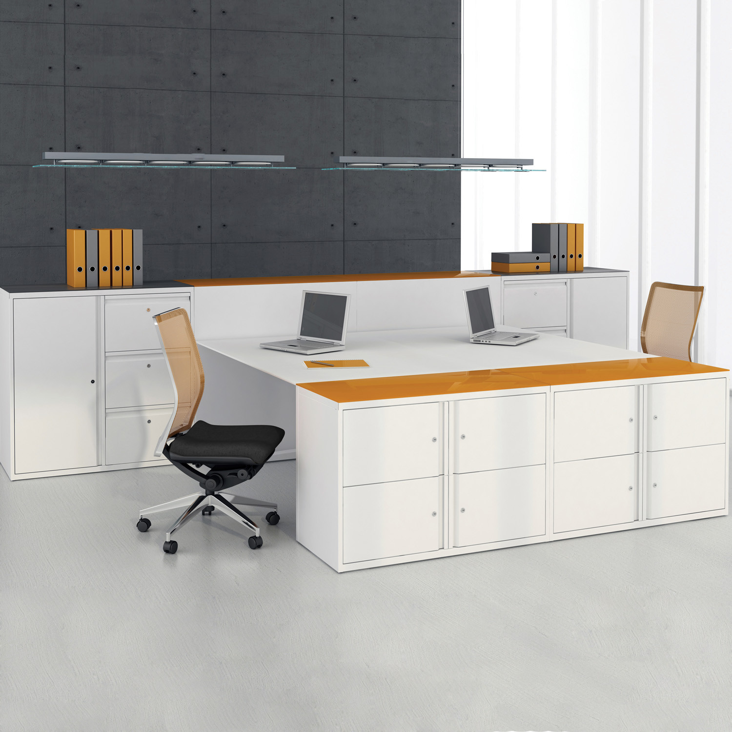 Freedom Hot Desk Storage Units