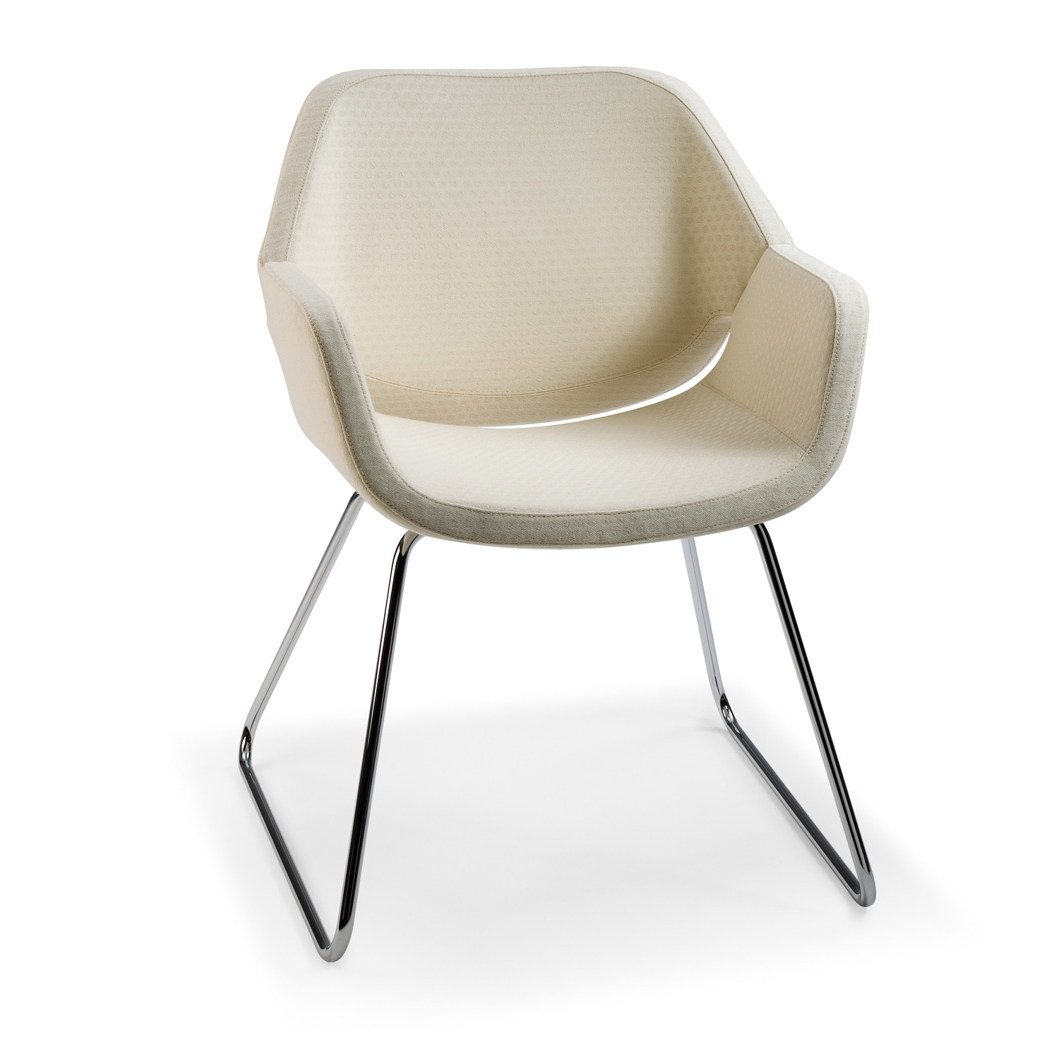 Gap Chair with Sled Base