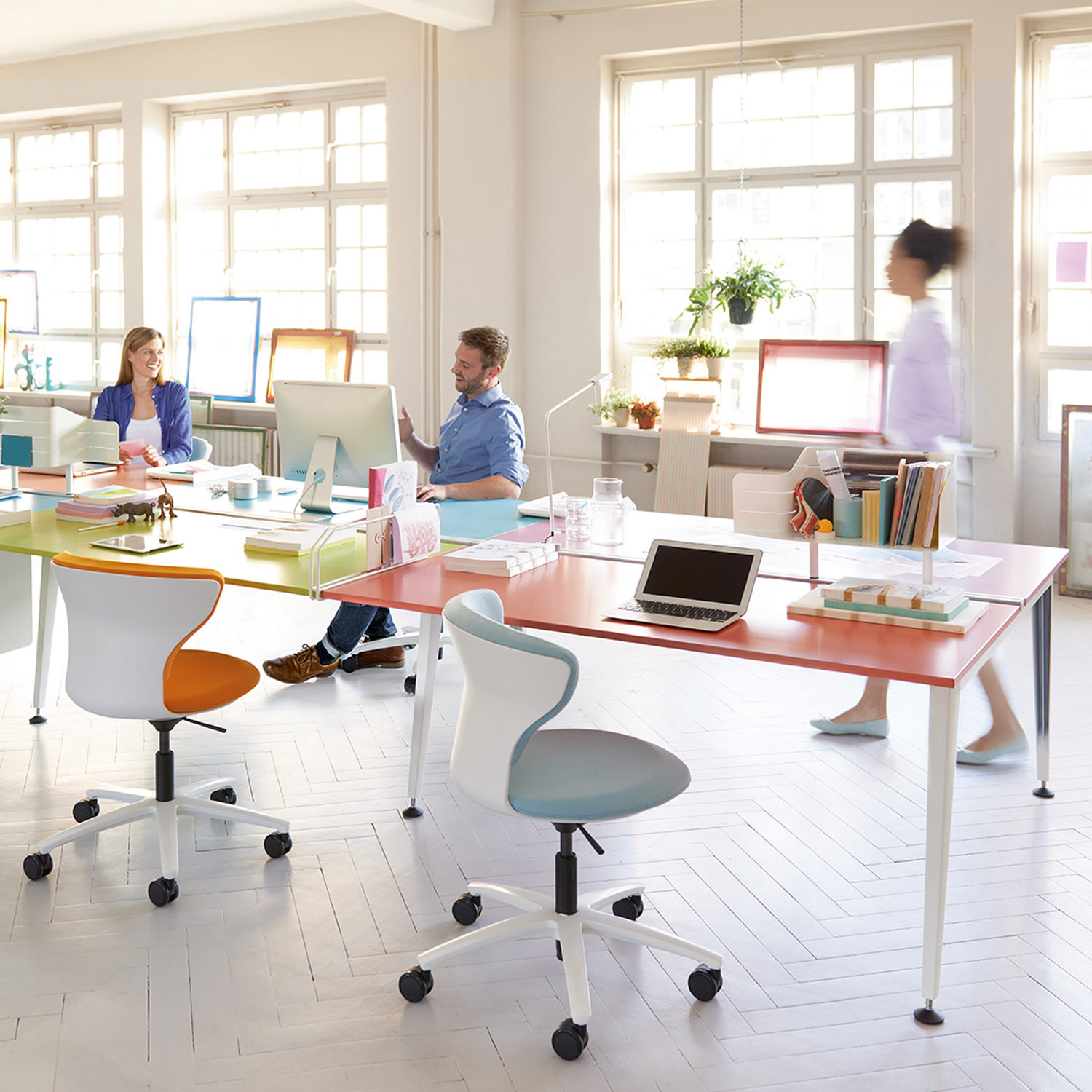 Get Together Office Bench Desks
