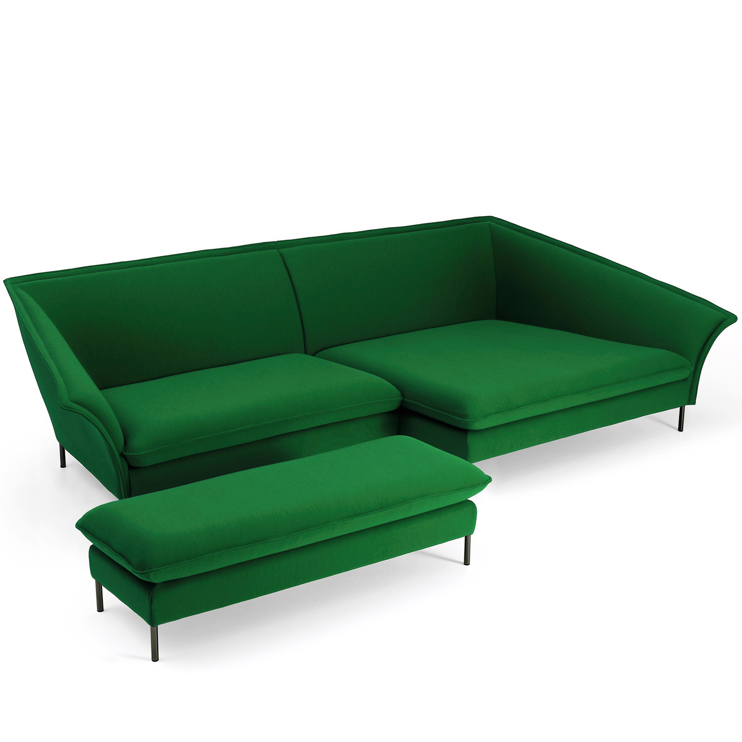 Grand Sofa with Footstool