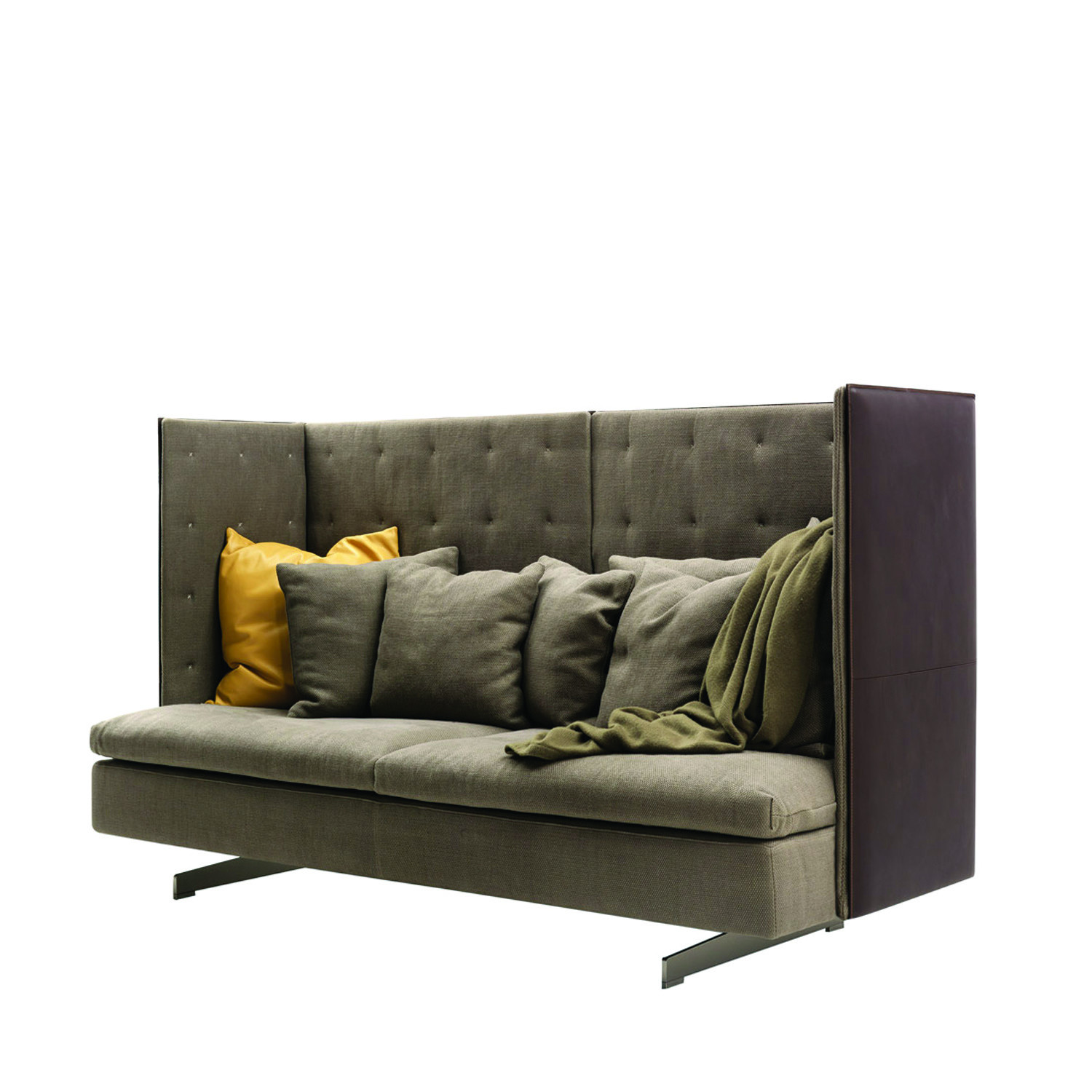 GranTorino HB Sofa Highback Privacy Sofas